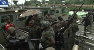 Nigerian Army, Crocodile Smile, militant