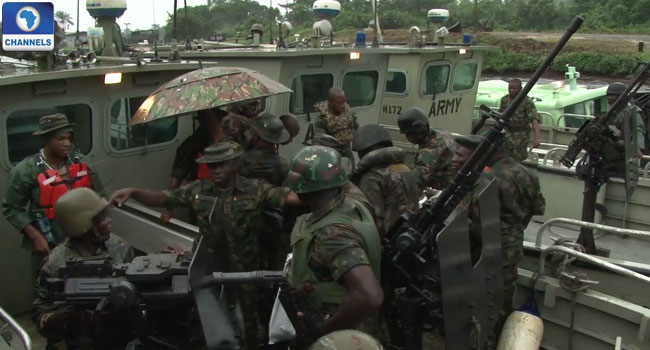 Nigerian Army Makes Progress In 'Crocodile Smile' Operation