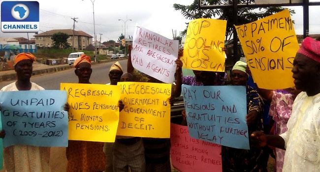 Pensioners Shun Osun 25th Anniversary, Protest Unpaid Gratuities