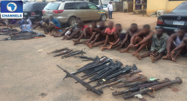 Edo Police Command Parades 96 Suspected Criminals