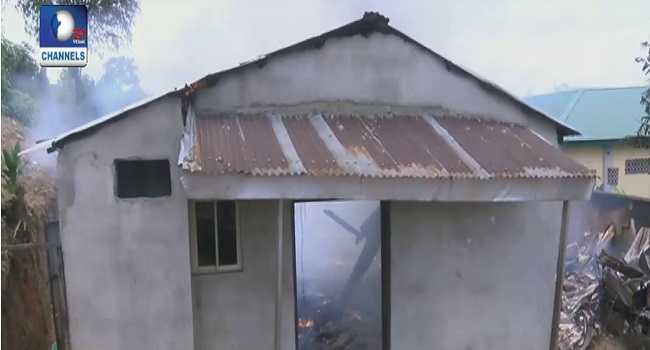 Inferno Razes Houses In Port Harcourt