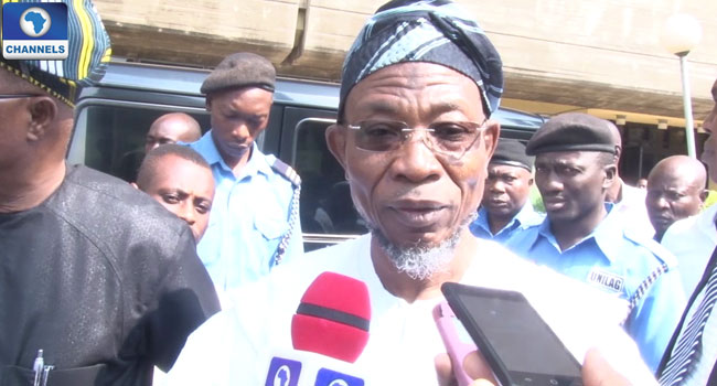 Aregbesola Says Recession Must End In 2017
