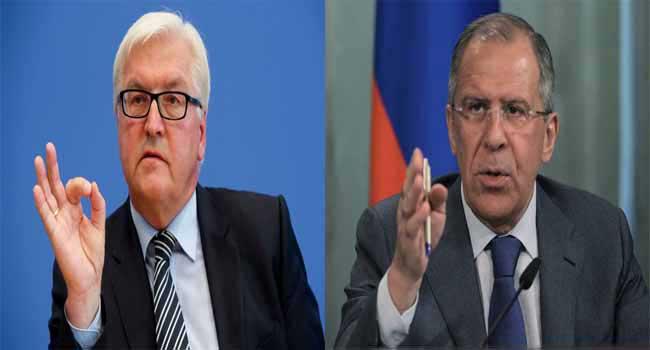 Lavrov, Steinmeier To Meet On Ukraine, Syria Crisis