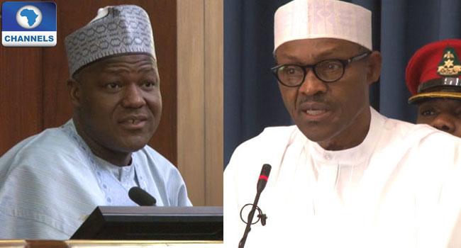 Buhari Meets With Dogara Again