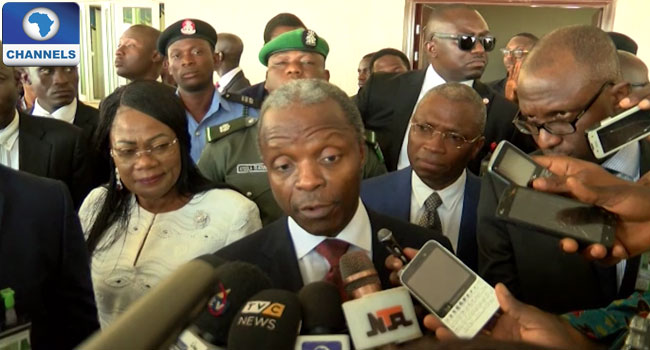 I'm Not Under Any Pressure To Resign – Osinbajo
