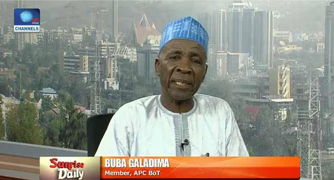 """Don't Ascribe Criminal Activities To A Tribe""- Buba Galadima"
