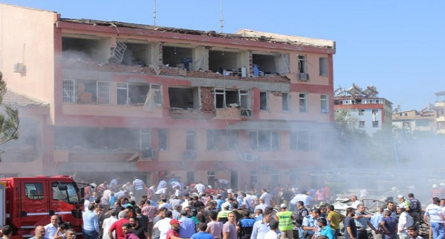 Car Bomb Kills Three, Wounds 170 In Eastern Turkey- Governor's Office