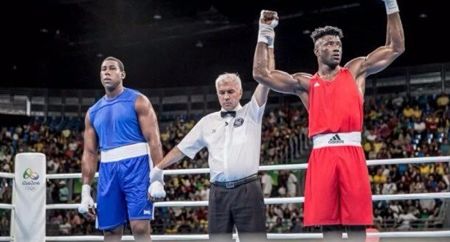 Efe Ajagba Begins Campaign With A Knockout