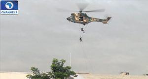 Nigerian Air Force, Boko Haram, Kangarwa