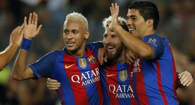 UCL: Barcelona, Bayern Harvest Goals As PSG, Arsenal Draw