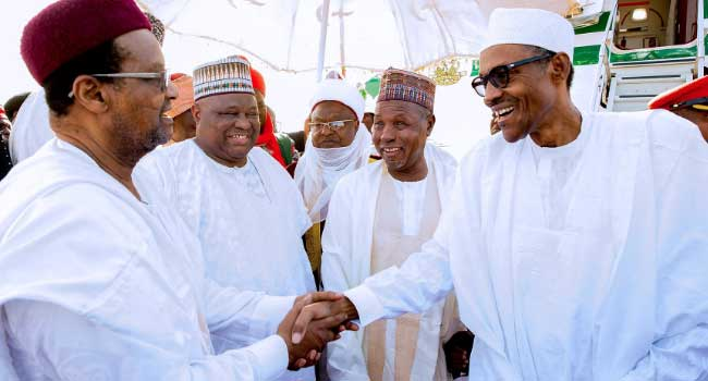 President Buhari Visits Katsina State