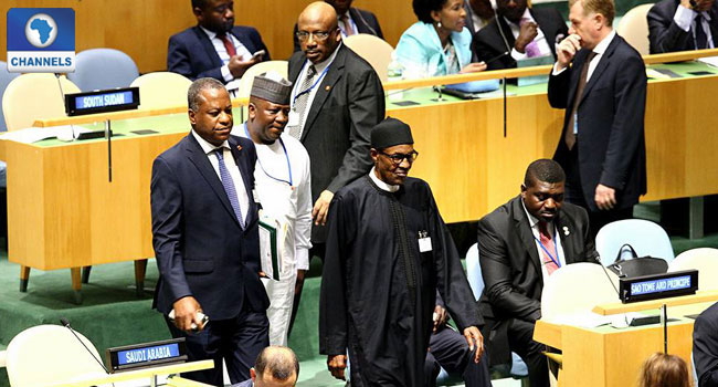President Buhari Attends UN Plenary On Refugees And Migrants