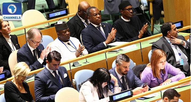 President Buhari, UN Plenary, Refugees, Migrants