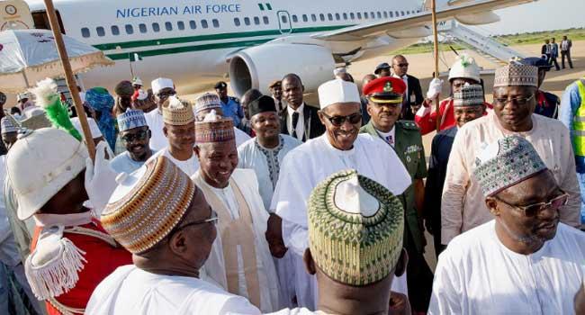 Buhari_Arrives_Katsina