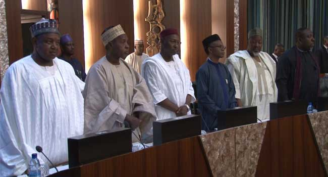 Nigerian Governors Pledge Support For FG's Plan To Revive Economy