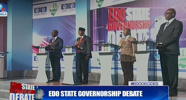 Edo Governorship Candidates Reel Out Manifesto In Debate
