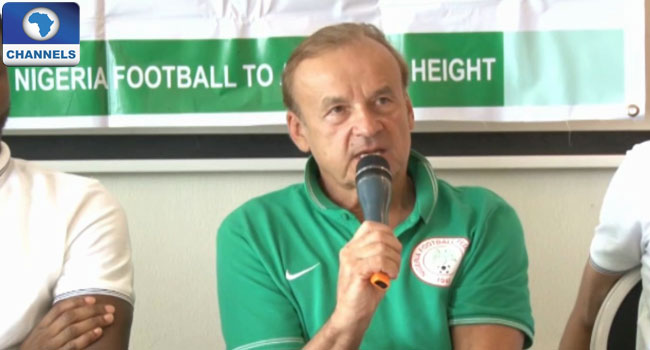 Rohr Frees Super Eagles From London Camp