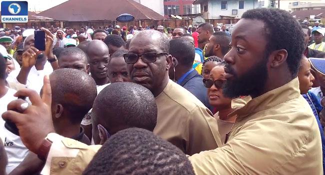 Godwin-Obaseki-APC-candidate-at-polling-unit