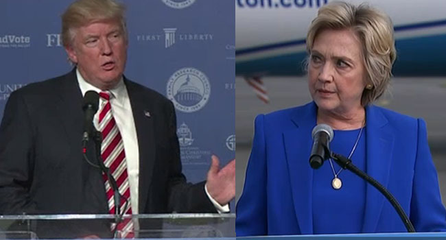 Hillary Clinton Vows To 'Call Out bigotry' As Feud With Trump Deepens