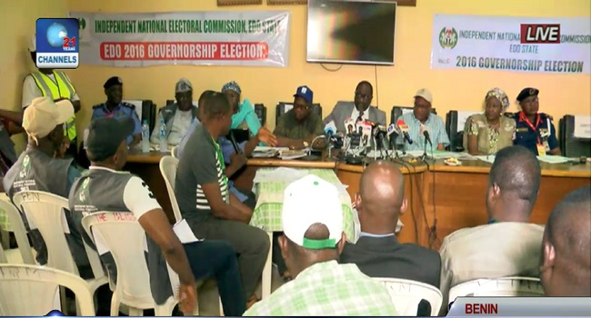 Edo Governorship Election: INEC Announces Results Of 17 Local Government Areas