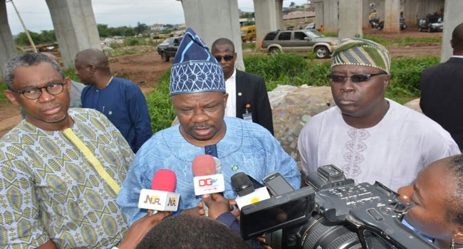 Amosun Vows To Complete Sango-Ojodu Road By March 2017