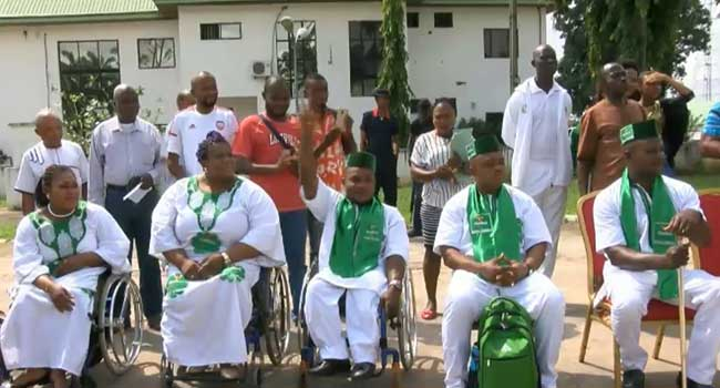 Okorocha Rewards Paralympic Athletes In Imo
