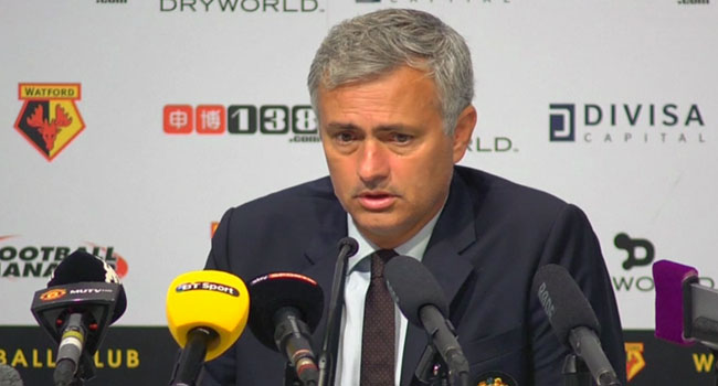 Mourinho Rues United's Congested Schedule