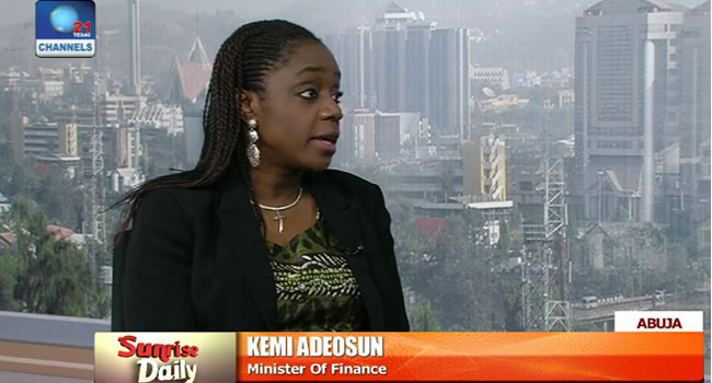 Kemi adeosun, recession, Finance Minister, CBN
