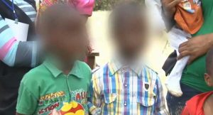 Kidnapped children, child traffickers, Delta Police
