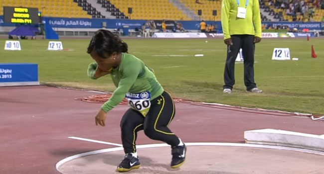 Rio Paralympic: Onye Wins Gold In Women's Shot Put f40 Final