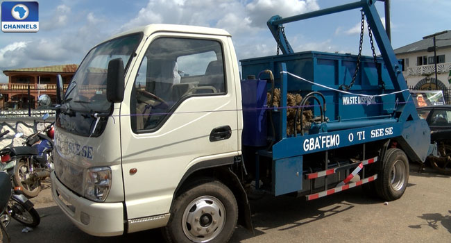 Layland-truck-for-Ife-waste-disposal-Ooni