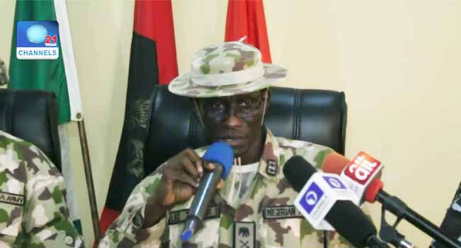 Military Assures Humanitarian Agencies Of Support On IDPs