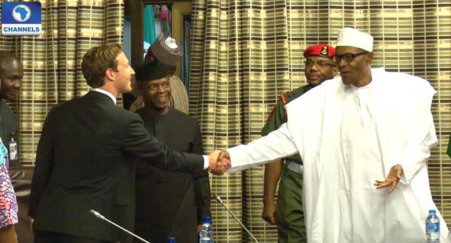 Buhari Commends Zuckerberg For Inspiring Nigerian Youths Into Entrepreneurship