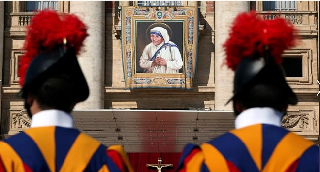 Pope Proclaims 'Dispenser Of Mercy' Mother Teresa A Saint