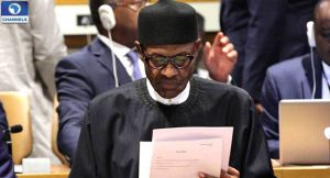 Muhammadu Buhari at UN General Assembly speaks on IDPs, refugees in Nigeria