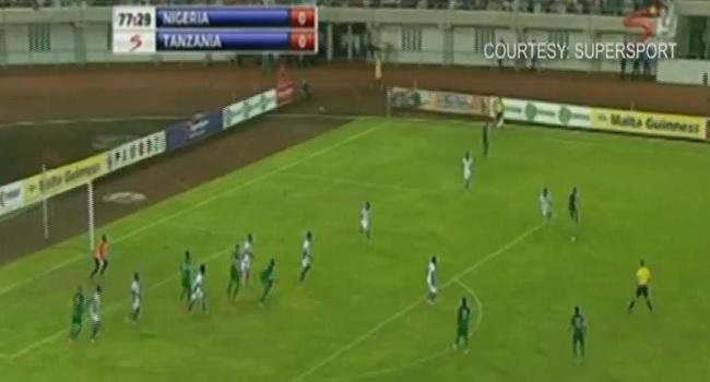Nigeria Beat Tanzania In AFCON 2017 Qualifier