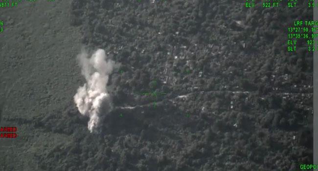 Nigerian Air Force Bombards Boko Haram Locations In Borno