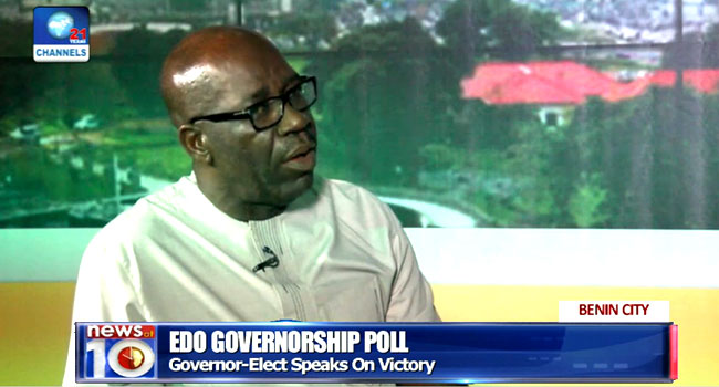 Key Promise Of My Administration Is Job Creation- Obaseki