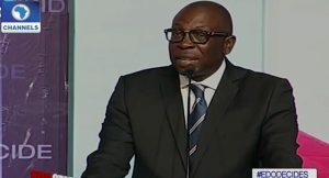 PDP Candidate, Osagie-Ize-Iyamu