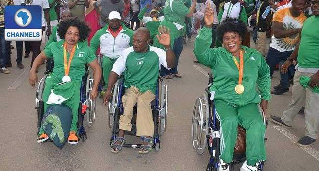 Obiano Rewards Two Paralympic Athletes In Anambra