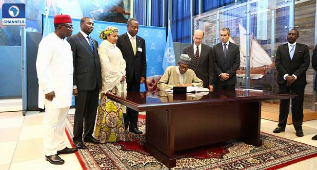 Buhari, Paris Agreement, Nigeria, Climate Change, Muhammadu Buhari, UN General Assembly