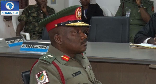 Special Court Martial Demotes Major General To Brigadier General