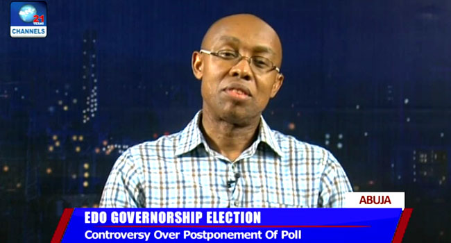 Edo Election Postponement: Security Agencies Must Do More To Earn Trust – Odinkalu