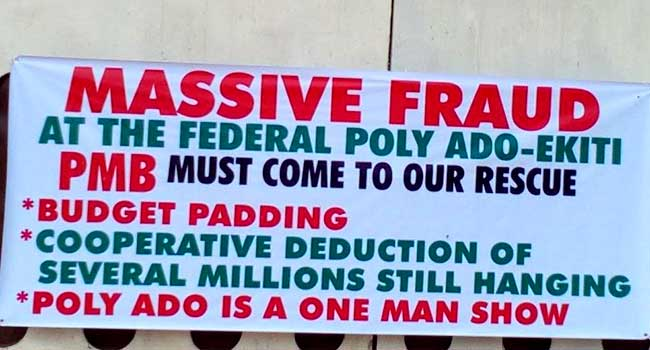 Federal Poly, Ado Ekiti, Education, Oyo, Labour Unions