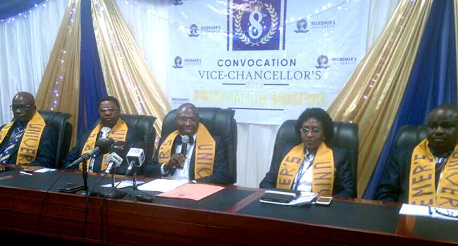 Redeemers University To Hold 8th Convocation Ceremony