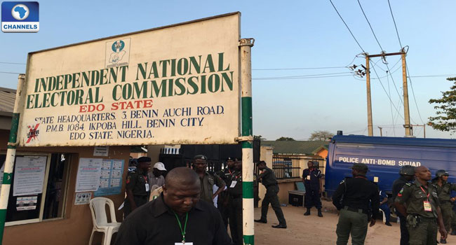 Edo Governorship Election: INEC Calls For Break In Result Announcement Till Noon