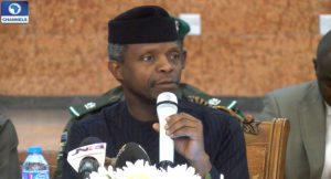 Yemi Osinbajo Nigeria's Vice President on justice system