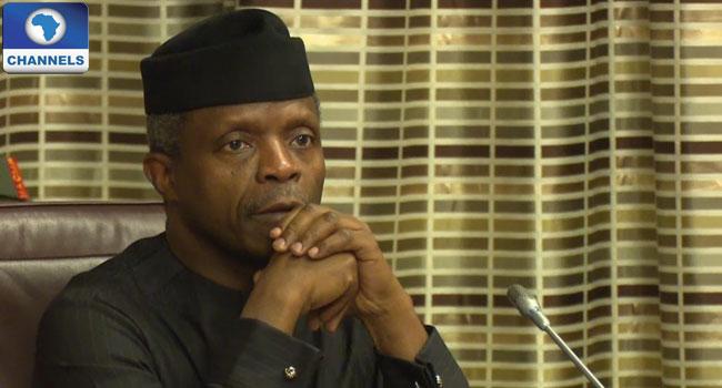 osinbajo, recession, nigeria, solution