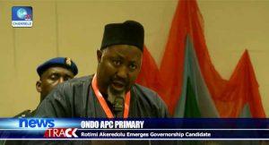 Rotimi Akeredolu, APC Governorship Candidate,Ondo
