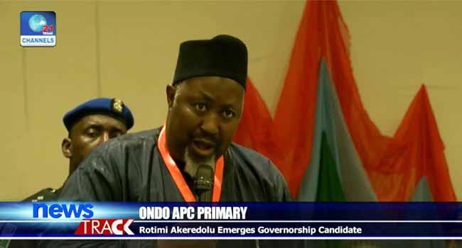 Rotimi Akeredolu Emerges APC Governorship Candidate In Ondo